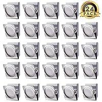 VOOKY 金属夹 3.02 厘米-60.96 厘米冰箱白板壁橱磁贴备忘录夹,适用于白板、图片、办公室磁贴板适用于白板和白板的磁贴