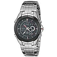 Casio 卡西欧 EFA119BK-1AV Edifice 男士模数双显不锈钢手表