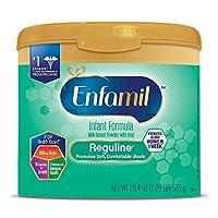 Enfamil 美赞臣 Reguline 1段 0-12个月 半水解温和婴儿配方奶粉 578g/罐 单罐装 助排便易***配方