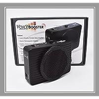 VoiceBooster 语音放大器 20 瓦黑色 MR2300(琥珀色)由 TK Products制造,便携式,适合教师、教练、导游指南、演示、戏服等