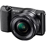Sony 索尼 ILCE-5100L/B 微单™ 数码相机 单镜套装(E PZ 16-50mm F3.5-5.6 OSS) (黑色)