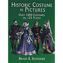 Historic Costume in Pictures (Dover Fashion and Costumes) (English Edition)