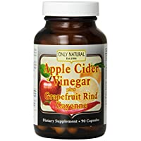 Only Natural - 苹果汁醋加上 700 镁。90 胶囊