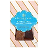 Pandora Bell Real Fruit Jellies with 70 Percent Fruit Pulp 150 g (Pack of 2)