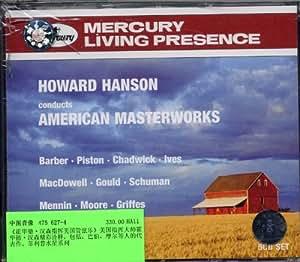 进口CD:霍华德.汉森指挥美国管弦乐(475 627-4)