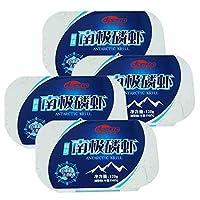 德特食品 5罐 大连特产 罐头 120g/罐 鲜味南极磷虾