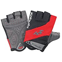OGK KABUTO 手指手套 SPG-6J 儿童款 红色/黑色 尺寸:3XS