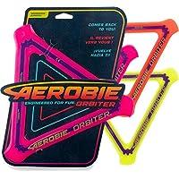 Aerobie – 6046408 – 轨道摇摆,三角形,直径24.5厘米,颜色分类