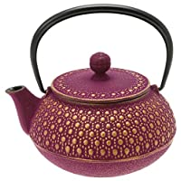 Iwachu 480-939 日式铁土龙茶壶,紫色