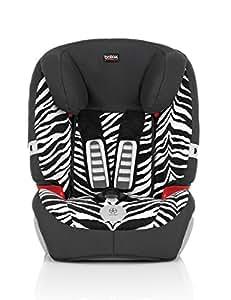 Britax 宝得适 汽车儿童安全座椅 Evolution123 超级百变王白金版 小斑马 五点式安全带 适用于体重9-36kg 9个月-12岁