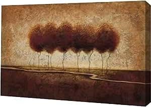 "PrintArt GW-POD-11-OSB-027-24x16""抽象风景 IV"" 由 Susan Osborne 画廊装裱艺术微喷油画艺术印刷品 12"" x 8"" GW-POD-11-OSB-027-12x8"