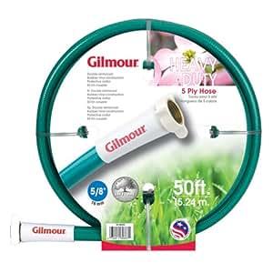 Gilmour 40 系列 5 层柔性增强橡胶/乙烯基软管 5/8 英寸 x 100 英尺* 40-58100