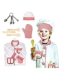 儿童角色扮演服装套装 Leaning pretend 万圣节服装3–7岁