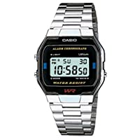 Casio A163WA-1QES 男式手表