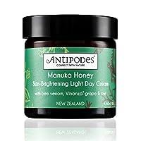 Antipodes 安媞珀 平衡滋养系列:麦卢卡蜂蜜亮白透肌轻盈日霜 60ml/瓶 (新西兰品牌)