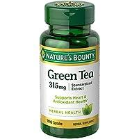 Nature's Bounty (自然之宝) - 规范化的萃取物绿茶 315 镁。100 胶囊