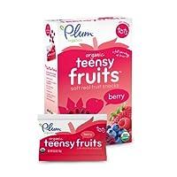 Plum Organics Plum水果零食 1.75盎司(50克)(8盒装)