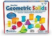 Learning Resources View-Thru 几何立体组合 14 件套