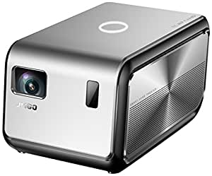 JmGO 坚果J6S投影仪 家用全高清1080P 智能微型无线wifi 无屏电视家庭投影机 便携电视(亚马逊自营商品, 由供应商配送)