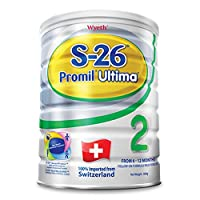 港版惠氏 Wyeth铂臻S-26 Ultima 婴幼儿奶粉2段 (6-12个月) 800克包邮包税【跨境自营】