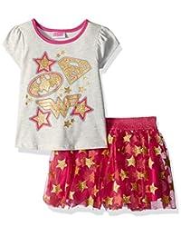 Warner Bros 女童明星短裙 2 件套
