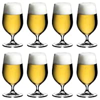 REDEL(RIEDEL)啤酒杯透明500毫升 價值套裝 華麗 6408/11-8 8個裝