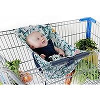 Binxy 嬰兒購物車吊床   符合人體工程學的嬰兒背帶 + 定位器 Tropical Days