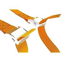 长系紧皮带 - 皮艇,峡谷橙色领带扣 - 货物车顶行李架带 - 金属肩带 - 可调节肩带 - 2.54 cm 背带 凸轮锁扣 - 领带 - 重型肩带 - 2 包,9.3 英尺