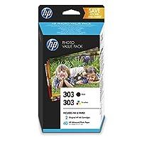 HP 惠普 303 原装 打印机墨盒 Photo Value Pack Rot/Blau/Gelb