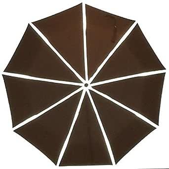 World's Smartest Reflective Compact 旅行雨伞,正在申请*的 ReflectSafe 设计
