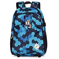 Vbiger Laptop Backpack Shoulder Bag Casual School Bags with Charging Port