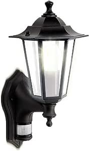 Luceco 外部装饰性教练灯笼 LEXDCL6PB