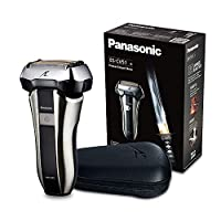 Panasonic 松下ES-CV51-S803耐用型剃須刀非常適合旅行,5個剃須單元,干濕剃須,包括旅行套