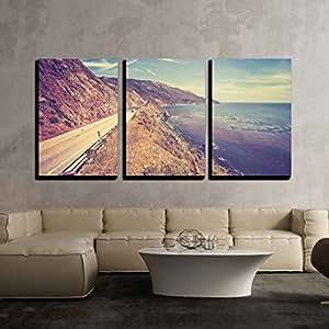 "wall26-3 面板帆布墙壁艺术 Artwork - 02 36"" x 24"" x 3 Panels CVS-X-D477-24x36x1.50x3"