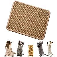 CIOGO World 天然剑麻猫抓地垫实用多样性 * 天然剑麻 50.8 厘米 x 50.8 厘米 猫/猫咪研磨爪和保护家具