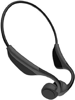 骨传导耳机蓝牙露耳运动耳机 6 小时玩耍时防汗轻质耳机带麦克风,环保意识,慢跑跑步驾驶骑行 常规