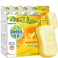 Dettol 滴露 健康抑菌香皂 自然清新115g*3 *5套 沐浴皂 男女通用(亚马逊自营商品, 由供应商配送)