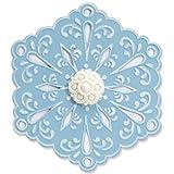 Sizzix Bigz Die with Bonus Textured Impressions - Snowflake #4 by Beth Reames