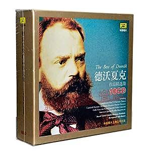 德沃夏克作品精选集 10CD 古典音乐CD唱片 套装碟片>>>影歌碟舞音像