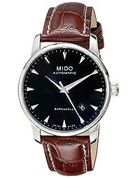 瑞士品牌 Mido 美度贝伦赛丽系列机械男表 M8600.4.18.8