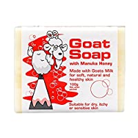 羊奶皂 Goat Soap 山羊奶皂手工香皂 保湿滋润 蜂蜜 澳洲进口 100g 孕妇婴儿适用