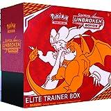 Pokemon TCG:Sun & Moon Unbreakds Elite 训练箱