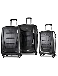 Samsonite Luggage Winfield 2 Fashion HS 3 Piece Set, Anthracite, One Size