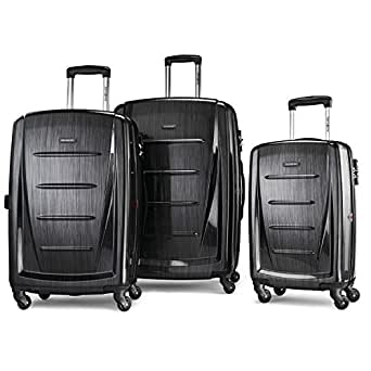 Samsonite Luggage Winfield 2 Fashion HS 3 Piece Set, Anthracite, One Size 无烟煤色 均码