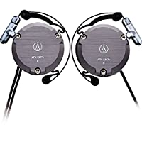 Audio-Technica 铁三角 ATH-EM7X 复刻版耳挂式耳机 运动挂耳式 灰色