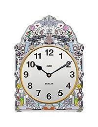 Alessi SJ01 漫畫掛鐘,鍍錫帶裝飾