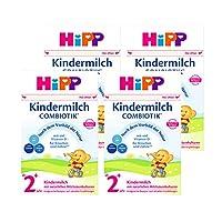 (跨境自营)(包税) Hipp喜宝 有机益生菌奶粉2+段 2岁以上 4盒装600克