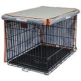 Pet Progressions K&H 狗箱罩 - 防撕裂狗窝罩 灰色 24英寸