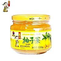 韩今(韩国) 蜂蜜柚子茶550g(韩国进口)(亚马逊自营商品, 由供应商配送)