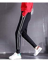 冬季加厚羊羔绒运动裤女加绒休闲裤韩版卫裤